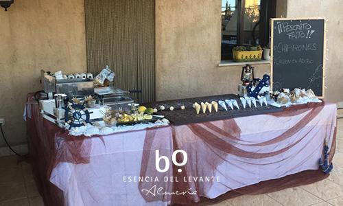 mesa-tematica-para-bodas-pescado-frito